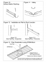Invelitori de tabla tip tigla, detaliu de strapungere scurgere, racord cu un perete, dolie, streasina cu un burlan colector
