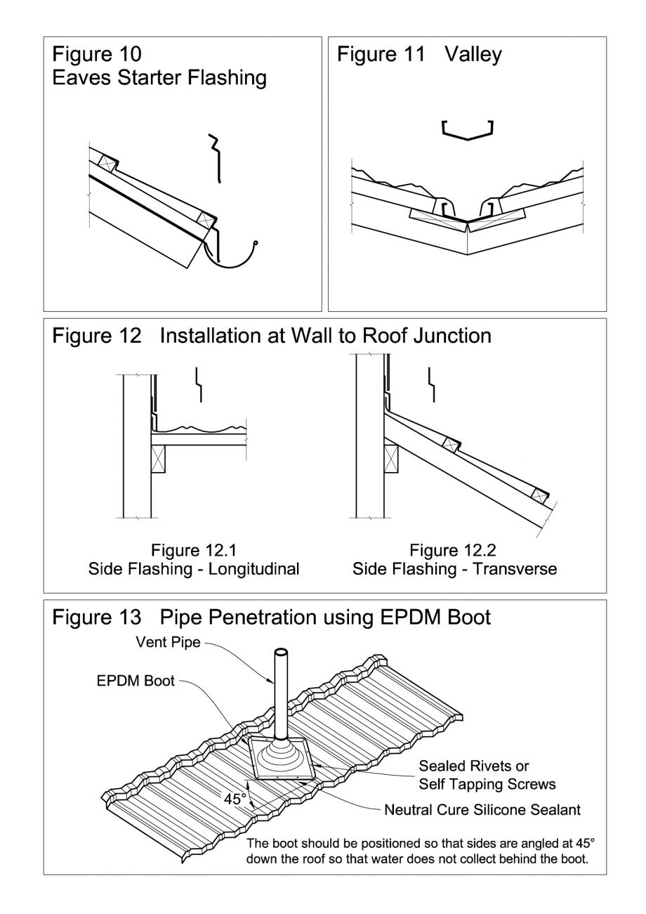 Instructiuni montaj, utilizare Invelitori de tabla tip tigla, detaliu de strapungere scurgere, racord cu un perete, dolie, streasina cu un burlan colector SHAKE, MILANO, HERITAGE, CLASSIC, SHINGLE, DIAMANT GERARD Acoperis cu tigla metalica cu acoperire de piatra naturala FINAL DISTRIBUTION  - Pagina 1