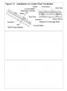Invelitori de tabla tip tigla, detaliu de camp