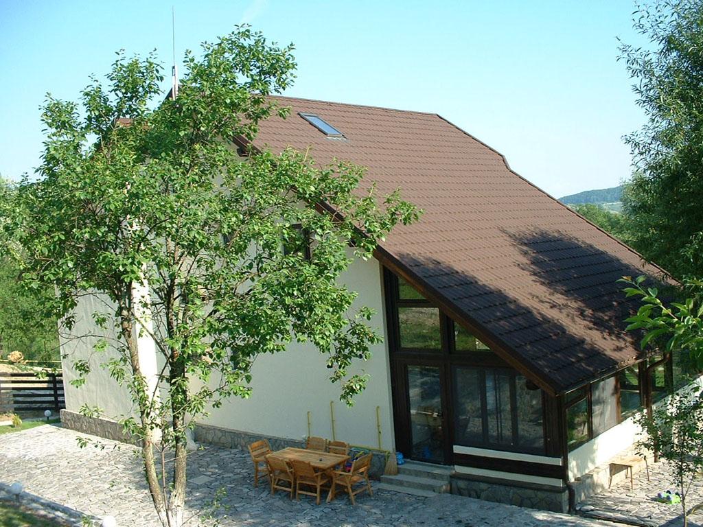 Invelitori din tabla tip tigla din otel, cu acoperiri din piatra naturala GERARD - Poza 23