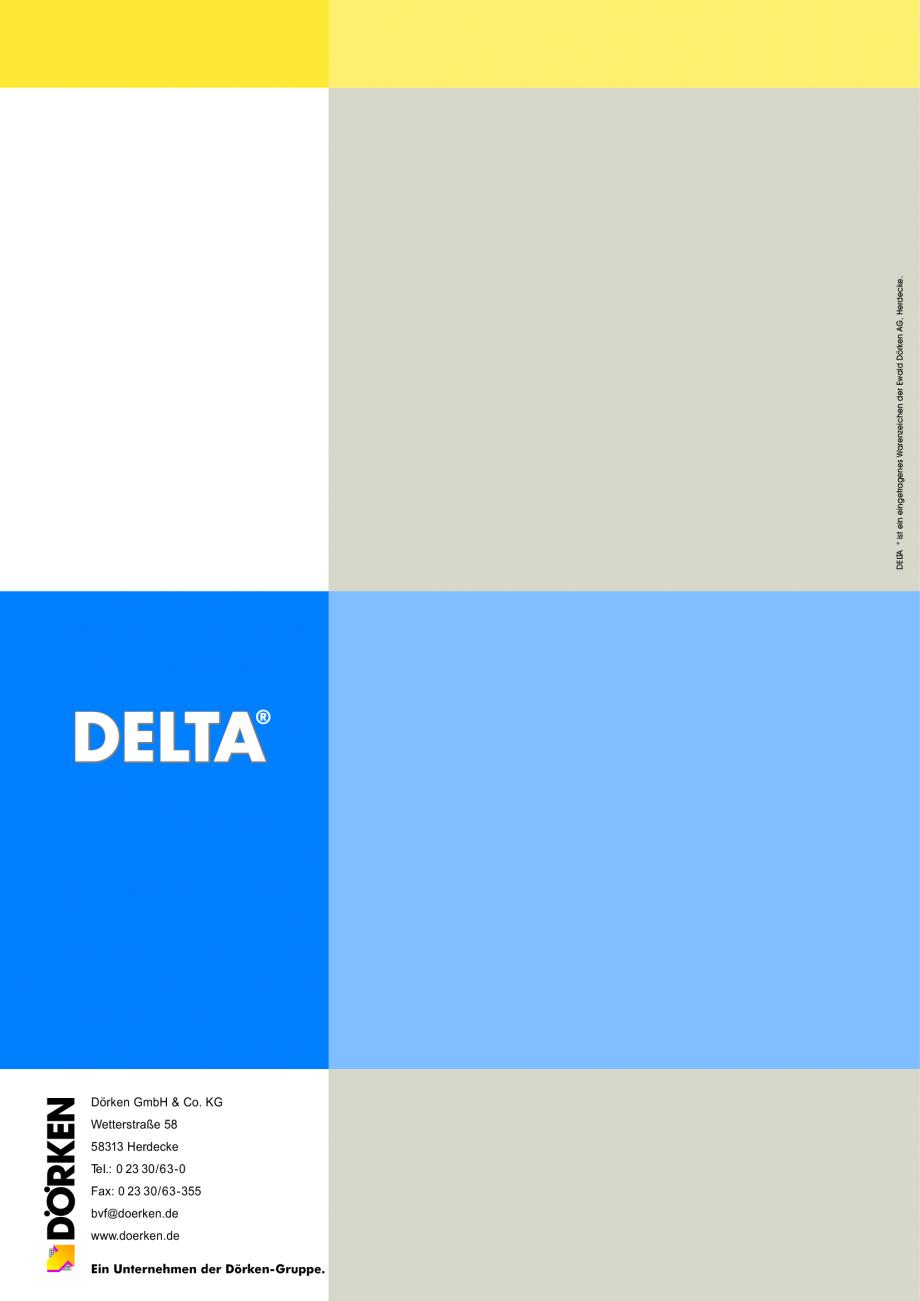Pagina 1 - Sisteme de acoperisuri DELTA DELTA Catalog, brosura Romana Dörken GmbH & Co. KG...