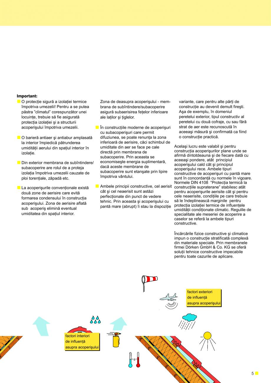 Pagina 6 - Sisteme de acoperisuri DELTA DELTA Catalog, brosura Romana puri constructive de...
