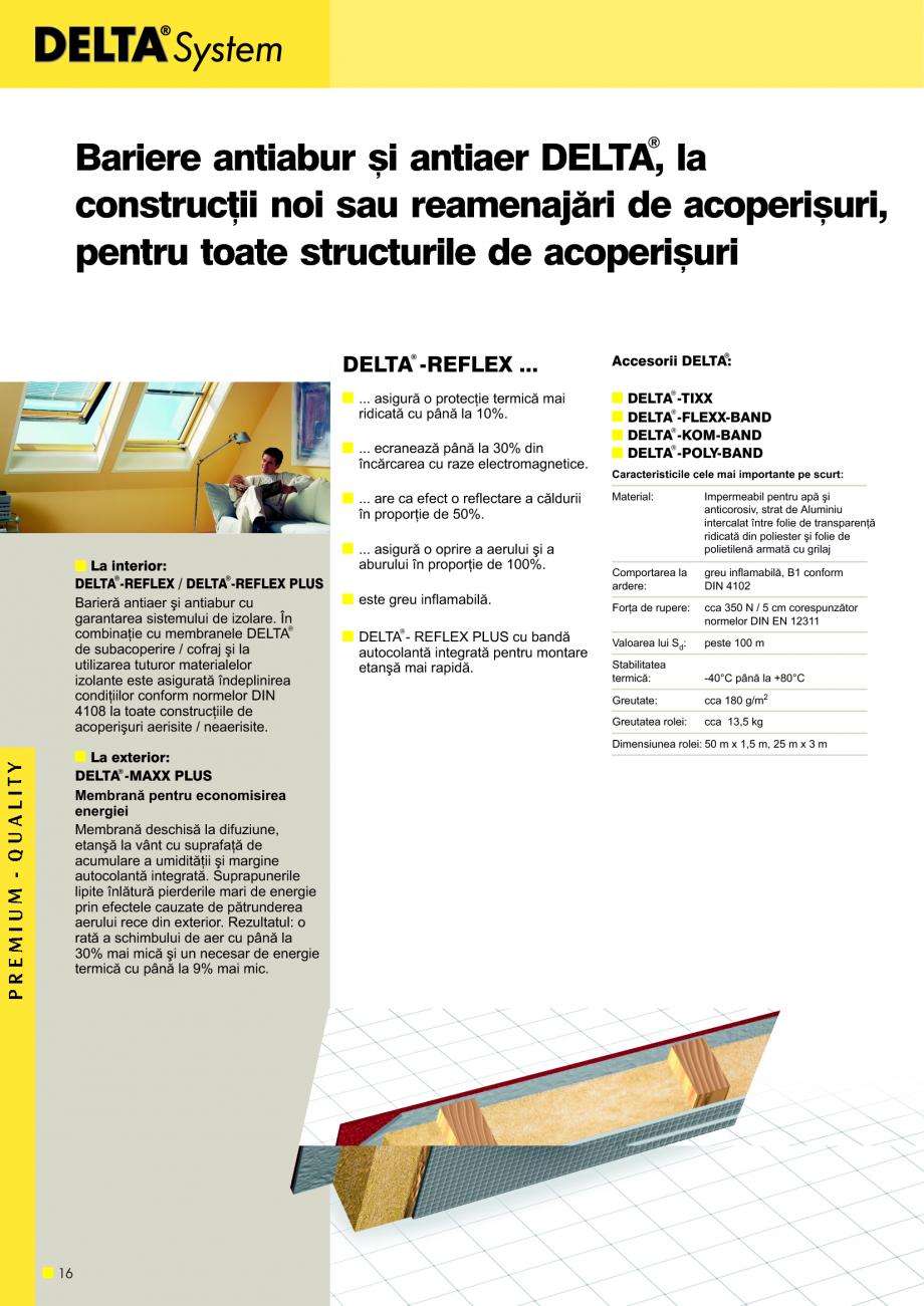 Pagina 17 - Sisteme de acoperisuri DELTA DELTA Catalog, brosura Romana trebuie sã poatã fi...