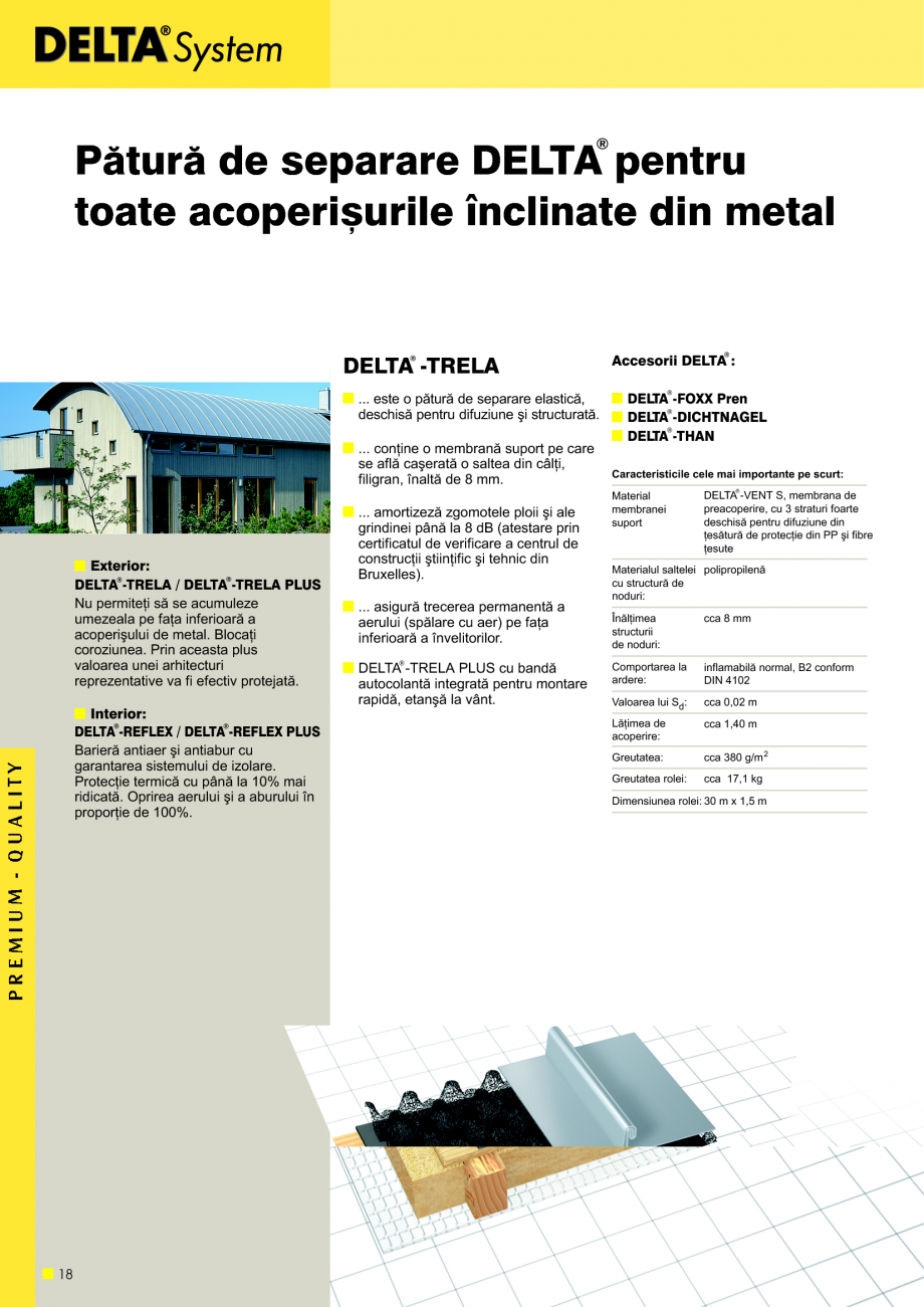 Pagina 19 - Sisteme de acoperisuri DELTA DELTA Catalog, brosura Romana cuarea umiditãþii din...