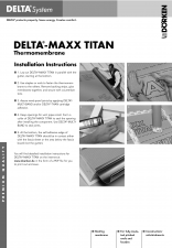 Membrana termoizolanta pentru acoperisuri DELTA