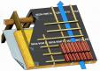 Schema de montaj, membrane pentru acoperisuri neventilate fara astereala DELTA - VENT N