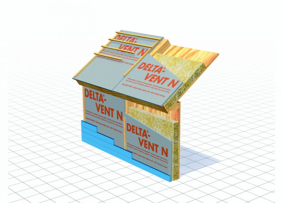 Pagina 2 - Schema de montaj, membrane pentru acoperisuri neventilate fara astereala DELTA VENT N...