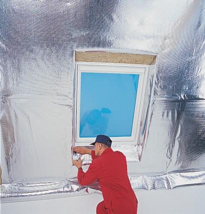 Bariera antivapori pentru toate tipurile de acoperisuri / Bariera antivapori pentru toate tipurile de acoperisuri D-0398