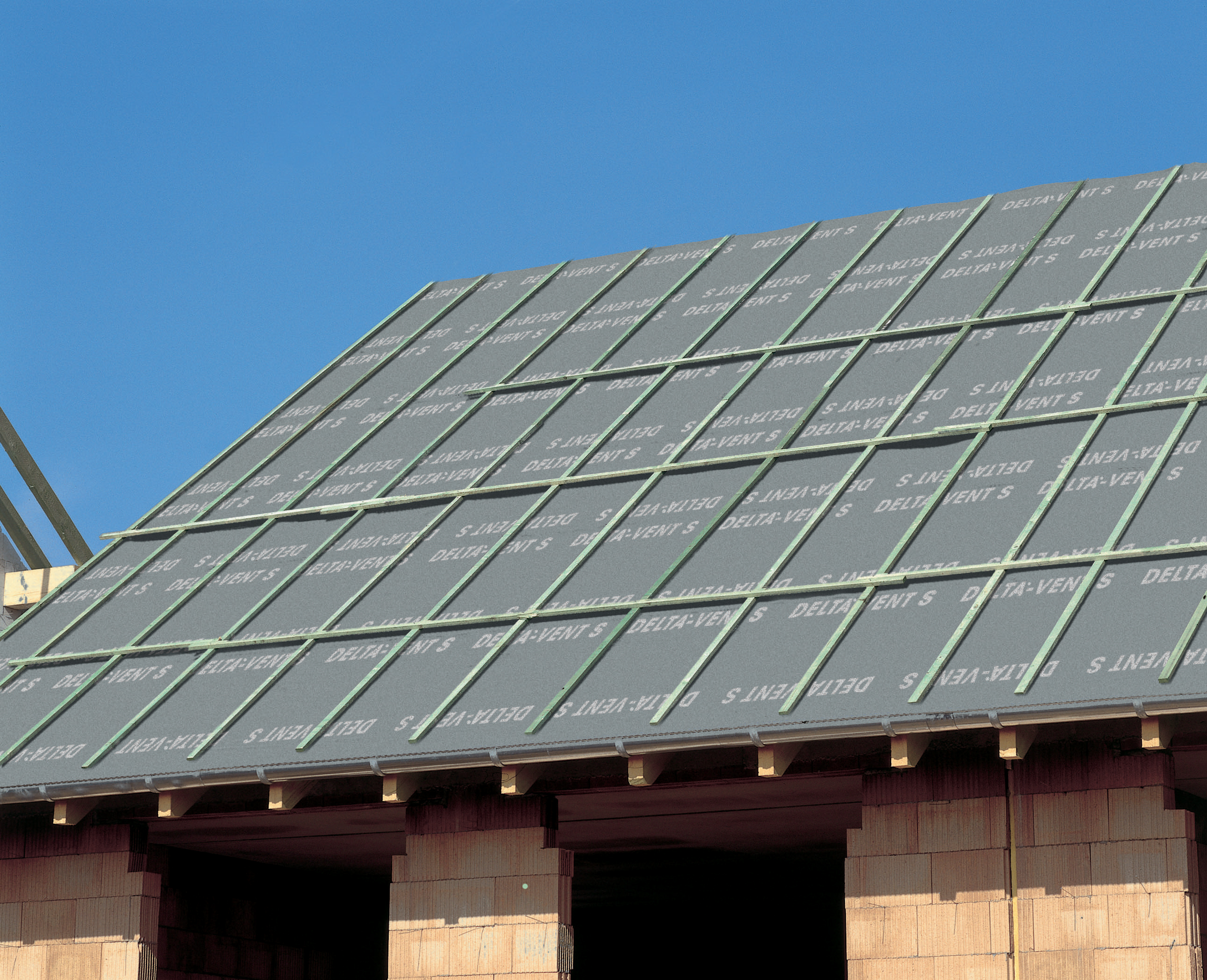 Membrane pentru acoperisuri neventilate cu astereala DELTA - Poza 1