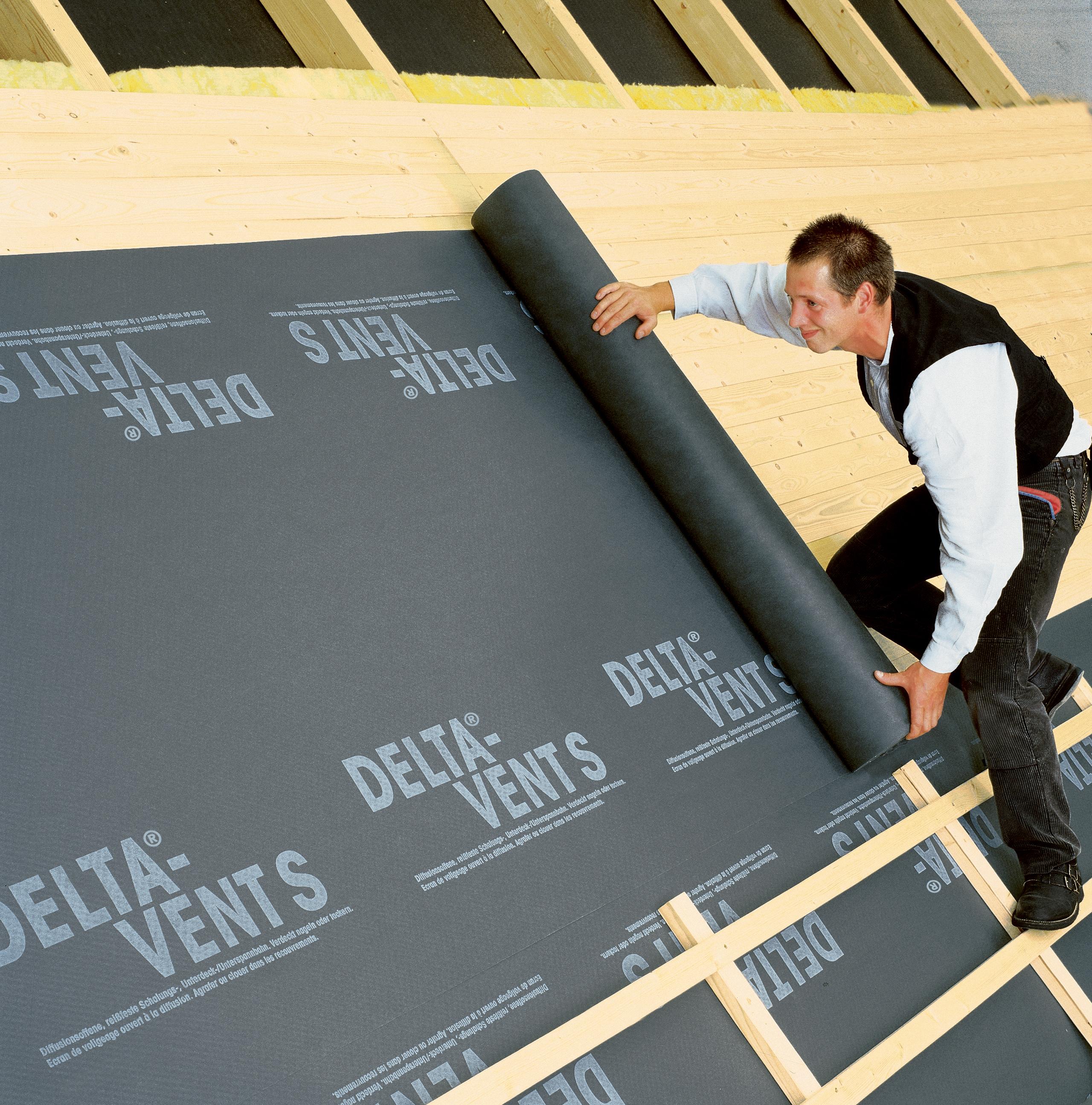 Membrane pentru acoperisuri neventilate cu astereala DELTA - Poza 2