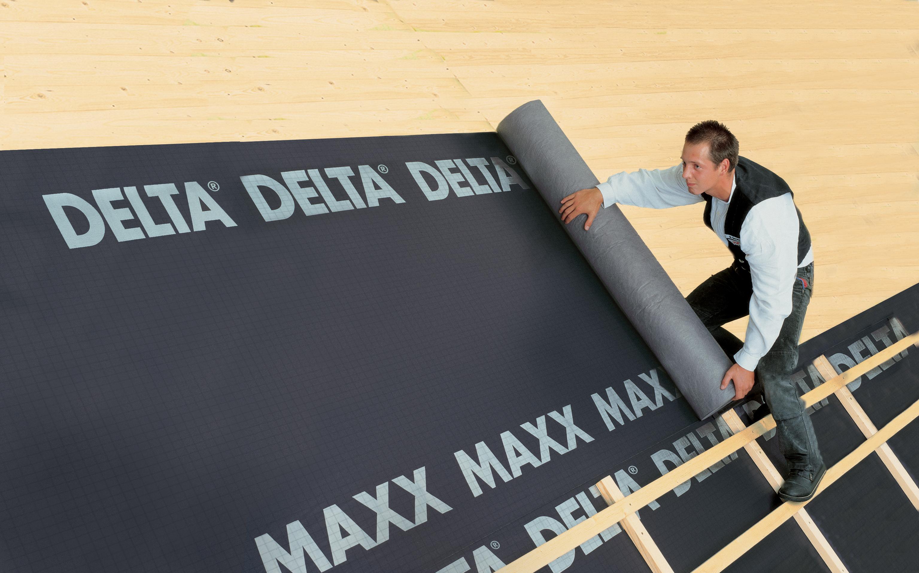 Membrane pentru acoperisuri neventilate fara astereala DELTA - Poza 2