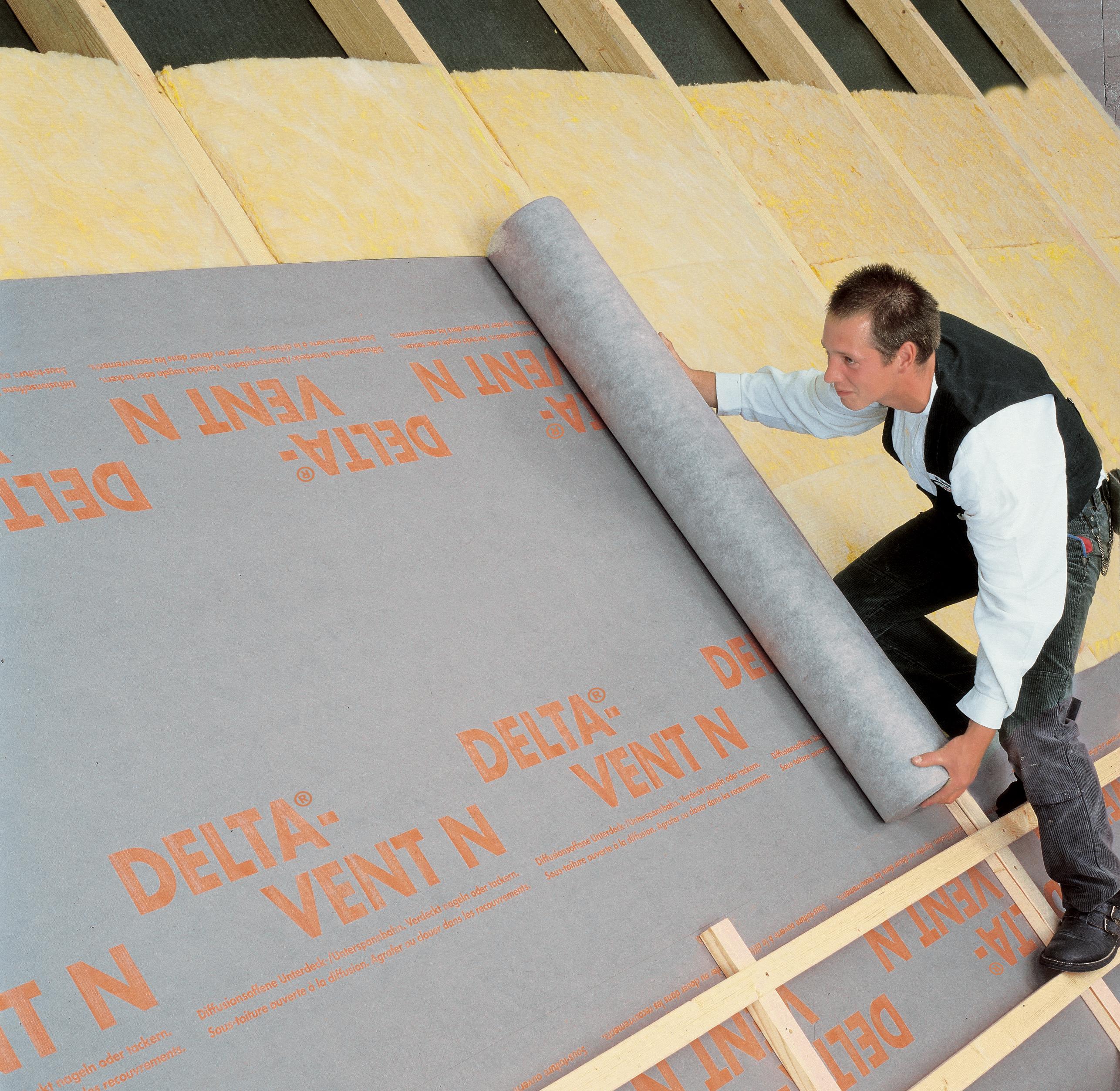 Membrane pentru acoperisuri neventilate fara astereala DELTA - Poza 1