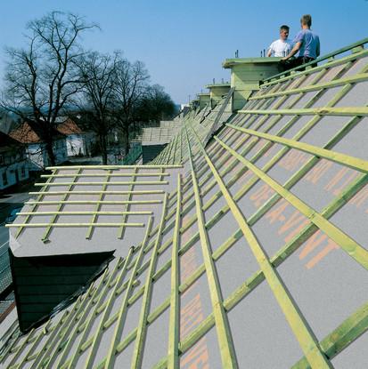 Membrane pentru acoperisuri neventilate fara astereala / Membrane pentru acoperisuri neventilate fara astereala D-0506