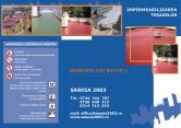 Hidroizolatii Revimca - Impermeabilizarea teraselor SASOIA