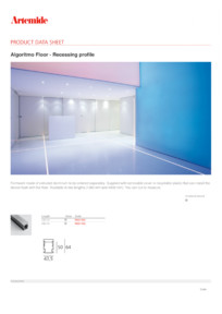 Sistem modular versatil - Floor mounting Artemide