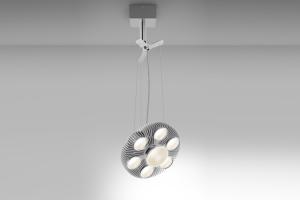 Corpuri de iluminat pentru birouri Corpurile Artemide sunt disponibile in varianta incastrata in plafon, semi-incastrata (pentru interior si exterior) suspendanta si incastrata in podea.