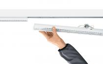Corpuri de iluminat industrial ZUMTOBEL va ofera un sistem liniar pentru iluminat, care ofera solutii inteligente pentru orice tip de iluminat.Pozitia corpurilor de iluminat poate fi modificata oricand.