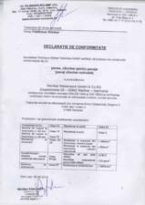 Declaratie de conformitate pavaj extrudat FELDHAUS KLINKER