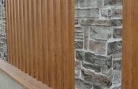 Garduri metalice cu aspect de lemn sau piatra TPS