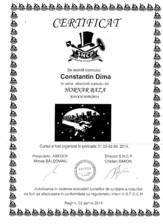 Certificat hornar Dima Calin ARFOC TEHNO