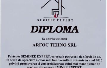 Diploma Seminee Expert ARFOC TEHNO