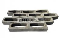 Elemente pentru gard din beton EFFEIBLOCK