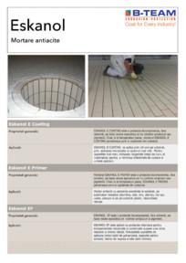 Mortare antiacite B-TEAM CORROSION PROTECTION
