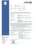 Certificat KIWA pentru fabrica de panouri fotovoltaice WATTROM