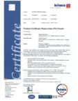 Certificat KIWA pentru panourile fotovoltaice WATTROM