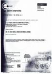 Certificat sistemul de management al calitatii ISO 9001 14000 18001