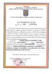Autorizatie pentru instalarea si intretinerea sistemelor si a instalatiilor de limitare/ stingere a incendiilor / VIOSIL INSTAL CONSTRUCT / VIOSIL INSTAL CONSTRUCT