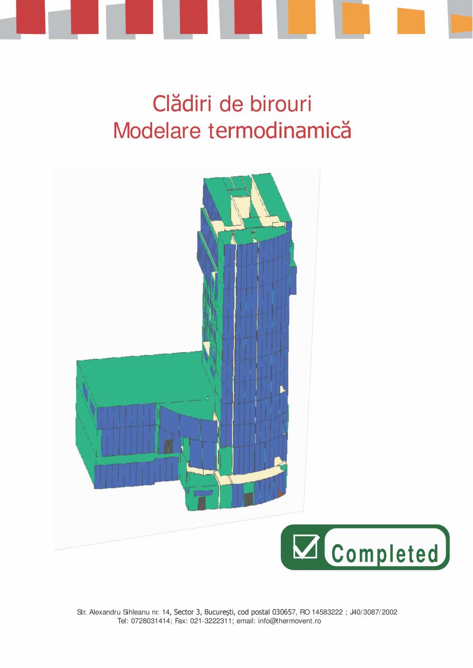 Catalog, brosura Prezentare Thermovent  THERMOVENT THERMOVENT si instalatii sanitare  2.000 mp  Reţele de termoficare - Rădăuţi  Proiectare retele exterioare ... - Pagina 5
