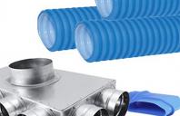 Tubulatura flexibila antibacteriana HDPE si accesorii pentru sisteme de ventilatie ALLVENT ENGINEERING