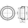 Schita tehnica ALLVENT ENGINEERING - Reductie circulara concentrica