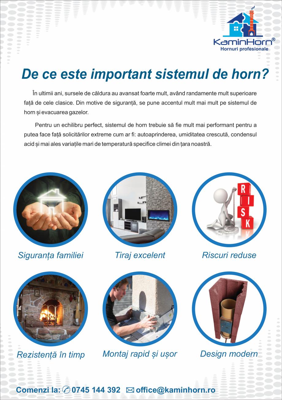 Pagina 5 - Catalog, brosura Hornuri profesionale si accesorii PremierHORN, EcoHORN, StarterHORN ,...