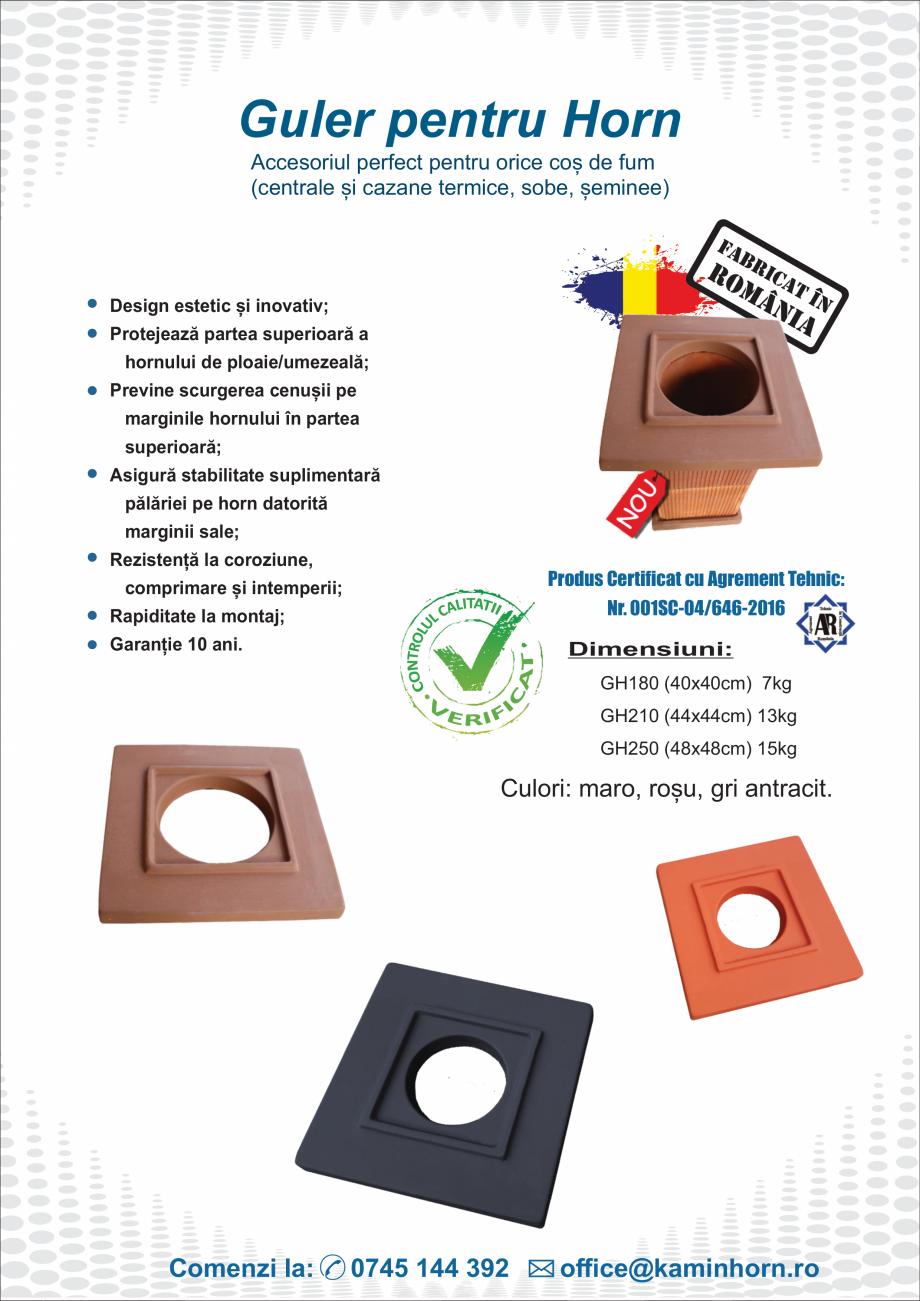 Pagina 10 - Hornuri profesionale si accesorii KaminHorn PremierHORN, EcoHORN, StarterHORN , Palarie ...