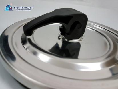 Usa curatare HORN - 180 mm INOX (cu maner) Usa curatare HORN - 180 INOX Usa