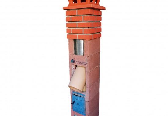 KaminHorn 1. PremierHORN - Sistem cos de fum Profesional  (2) - Cosuri de fum ceramice si