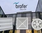 Anemostate si grile pentru instalatiile de climatizare si ventilatie Brofer