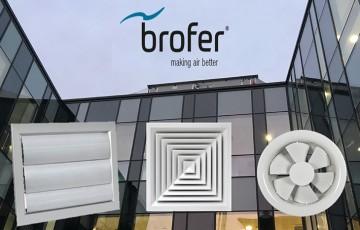 Anemostate si grile pentru instalatiile de climatizare si ventilatie DIPET comercializeaza grile si anemostate marca Brofer pentru instalatiile de climatizare si ventilatie.