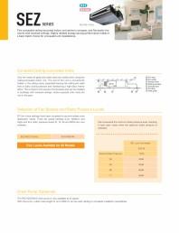 Unitate necarcasata pentru plafon fals - tip DUCT