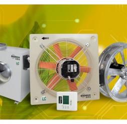 Ventilatoare axiale si centrifugale pentru tubulatura SODECA