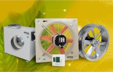 Ventilatoare axiale si centrifugale pentru tubulatura Ventilatoare axiale si centrifugale Sodeca pentru tubulatura instalatiilor de ventilatie si climatizare a cladirilor.