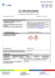 Adeziv elatic standard - Fisa cu date de securitate EURO MGA - C11