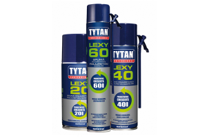 Spume poliuretanice pentru etansari Spumele poliuretanice Tytan sunt produse de inalta calitate rezistente la mucegai, caldura, frig si umiditate.