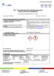 Tencuiala decorativa minerala structurata - Fisa cu date de securitate EURO MGA - F91