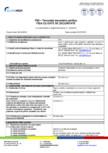 Tencuiala decorativa acrilica - Fisa cu date de securitate EURO MGA - F92