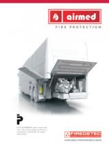 Instalatii automate stingere incendii motoare utilaje, motoare masini AIR MED