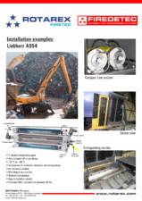 Exemple de instalare sisteme anti-incendiu motoare utilaje, masini AIR MED