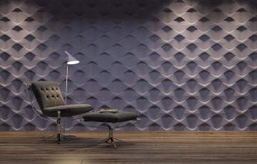 Panouri decorative 3D din ipsos Panouri decorative 3D pentru pereti interiori de la Stone Deco Style - solutii interesante pentru un aranjament unic.